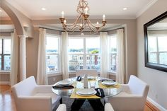 Don't forget the details.    Set the table. It's easy to do and makes a big impact. Buyers walk in and instantly feel welcome, like as if they're coming over for dinner. Light clean- or nonscented candles, and place plush towels and fancy soap in the bathrooms, a breakfast tray on the bed, and a pretty book on the coffee table.