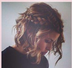 Braid for short hair gorgeous!!!