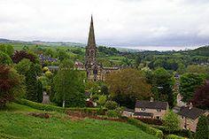 Bakewell, Derbyshire. Måske en idé at bo i nærheden; det ligger cirka midt i Peak District.