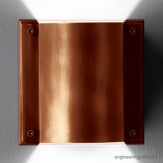 MONO DOWNUP LED WW Exterior Wall Surface Mounted spot by Delta