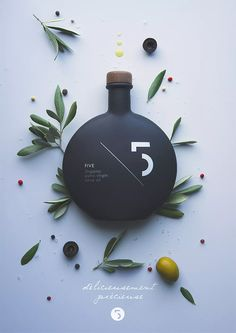 Five Organic Extra Virgin Olive Oil - The Cool Hunter -  The Cool Hunter