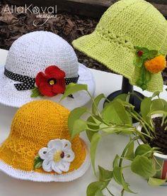 15 Free Summer Hats to Crochet for Kids | Imagine
