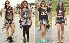 Veja os looks das garotas que passaram pelo Lollapalooza 2015 - Moda - CAPRICHO