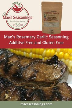 Mae's Rosemary Garlic is a great all–purpose seasoning. It is great on steak, roasted potatoes and chicken. This Rosemary Garlic blend of spices including rosemary, garlic and red bell peppers to name a few. Our Rosemary Garlic seasoning brings exquisite flavour to any meal. When you are looking for a unique seasoning blend for your dinner, eliminate the guesswork and choose Mae's Rosemary Garlic Seasoning. Our spice combination is made with no artificial preservatives. Spice Combinations, All Purpose Seasoning, Natural Spice, Barbecue Recipes, Spice Blends, Roasted Potatoes, Greek Recipes, Chicken Recipes, Steak