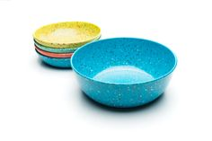 Made with 40% recycled postindustrial melamine