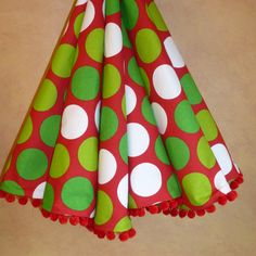 LAST DAY of SPECIAL 36 Reversible bright polka dot by CBSInteriors