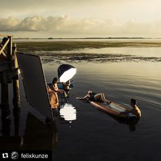"""""""Awesome BTS @felixkunze! Repost @felixkunze with @repostapp. ・・・ And people ask me why I go to Florida so much! @kristinahouserphotography Added by us:…"""""""