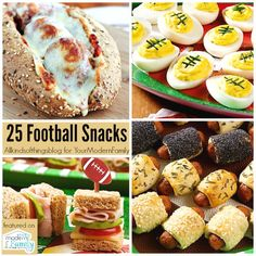 25 football snacks that are too easy to look so impressive! Healthy Superbowl Snacks, Game Day Snacks, Game Day Food, Quick Snacks, Quick Recipes, Yummy Recipes, Healthy Recipes, Fudge, Good Food