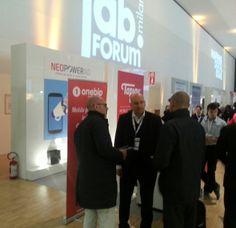 Neomobile at IAB Forum Milan - Neopowerad & Onebip Milan, Company Logo, Tech Companies, Events, Logos, Logo