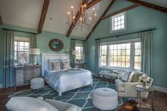 So do you think you would sleep well in this master bedroom?