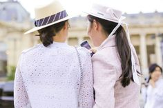 Best streetstyle at Chanel Couture FW16 Paris - NOWFASHION