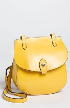 Perlina 'Tory' Yellow Crossbody Bag