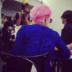 G-Dragon attends Junya Watanabe's fashion show in Paris