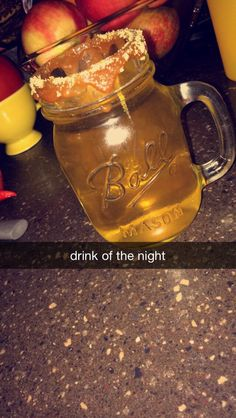 fall drink: angry orchard beer with a shot of Smirnoff Kissed Caramel vodka