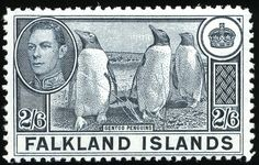 King George VI Postage Stamps: Falkland Islands 1938 (3 Jan) - 50