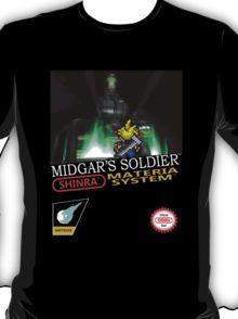 Final Fantasy VII Nintendo Style T-Shirt
