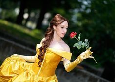 Belle from Disneys Beauty and the Beast, by Eleonora Caminiti.