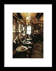 Early evening in the Ship Inn Seahouses UK Framed Print by David Davies David Davies, The Ship Inn, Main Theme, Shattered Glass, Frame Shop, Hanging Wire, Clear Acrylic, 1980s, Fine Art America