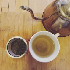 green tea has too many benefits to mention  time to give coffee a break and return to my tea-love  thanks @gilbertbrandon for the organic #gynostemma  #jiaogulan #oolong #teatime #stillcaffeinated #herbaltonic