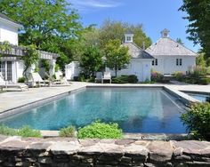 love the outbuilding especially the cupola  A COuntry Place - traditional - pool - other metro - Milieu Design