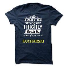 Last chance of KUCHARSKI to have KUCHARSKI T-shirts - Coupon 10% Off
