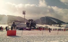 Yongpyong base area 16/12/14