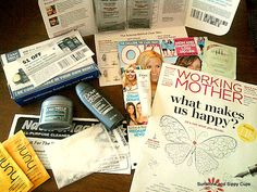 How I get freebies every day - Legit freebie site list. Great resource for frugal moms