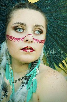 Amerindien III More on www.arkuswork.com https://www.facebook.com/pages/Ark-Us-/115025235174714