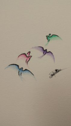 WATERCOLOUR SWALLOW TATTOO - Google Search
