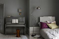 Grey piano, love it..