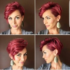 """1,249 Likes, 15 Comments - Short Hair Ideas (@short_hair_ideas) on Instagram: """"#Hairstyle #style #hair #fashion #pretty #instacool #instamood #july #fashionista #picoftheday…"""""""