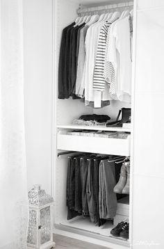 Cómo organizar los pantalones