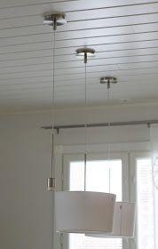 k o t i p o r s t u a: DIY - PUUHELMIVALAISIMET keittiöön & ripaus puunväriä sisustukseen Koti, Chandelier, Ceiling Lights, Lighting, Diy, House, Home Decor, Candelabra, Decoration Home