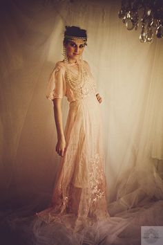 Featured in LUCKY MAG online. 20s Pink by SalvatoCollection