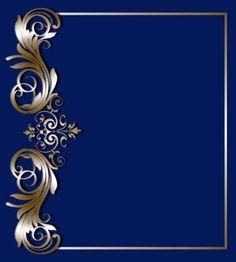 Gold vintage baroque ornament antique style. vector art illustration