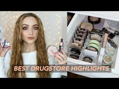 2ff84030ea5 MY DRUGSTORE HIGHLIGHTER COLLECTION | Makeup Stash + Storage (SWATCHES)