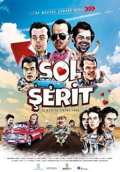 """Ankaralı yapımcıları bir araya getiren """"Sol Şerit"""" filmi, 25 Mart'ta vizyona giriyor. Komedi, macera, bir yol hikâyesinin anlatıldığı filmin oyuncuları, yaşadığımız bu zor dönemlerde herkesin yüzünü biraz da olsun güldürmek için filme davet ediyor."""