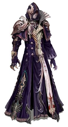 Male Forgotten Abyssal Cloth Armor from Aion