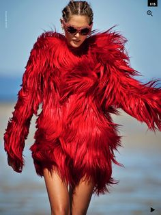 Catherine McNeil by Gilles Bensimon for Vogue AU #MACxNastyGal