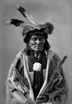 Long Fox-To-Can-Has-Ka. Tachana,(Yankton Sioux Tribe of the South Dakota) a headman among the Upper Yanktonais  from the Milk River Agency. In 1872, delegations from Milk River and from Standing Rock (known as Grand River Agency at the time) traveled together to Washington D.C. to meet the President. http://www.american-tribes.com/Nakota/BIO/LongFox.htm
