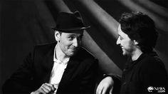 James McAvoy & Michael Fassbender
