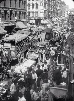 Hester Street, New York 1903