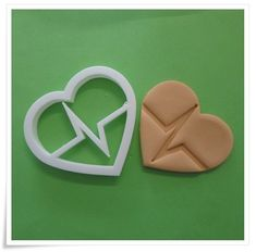A South African supplier of silicone moulds/mold,biscuit cutters,flower cutters, cake decorating accessories, stencils and veiners Baker Shop, Vintage Baking, Heart Beat, Decorative Accessories, Cookie Cutters, Vintage Shops, Biscuits, Cake Decorating, Stencils