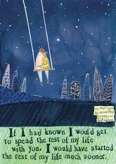 If I Had Known Greeting Card - Curly Girl Design