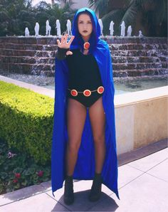 Raven from Teen Titans cosplay. Wondercon 2015