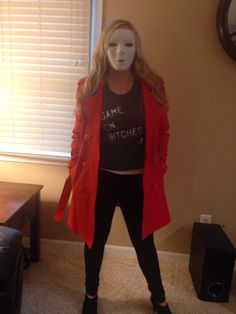 red coat from pretty little liars halloween costume