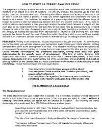 Need help writing analytical essay