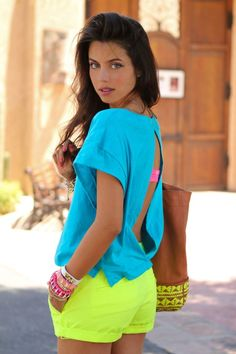 neon #colorblock #color block