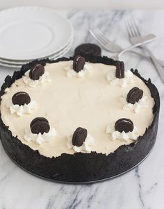 No-Bake Oreo Cheesecake by Tracey's Culinary Adventures
