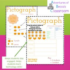 Google Graphing and Data Unit Interactive Notebook! No prep! Just click and use!